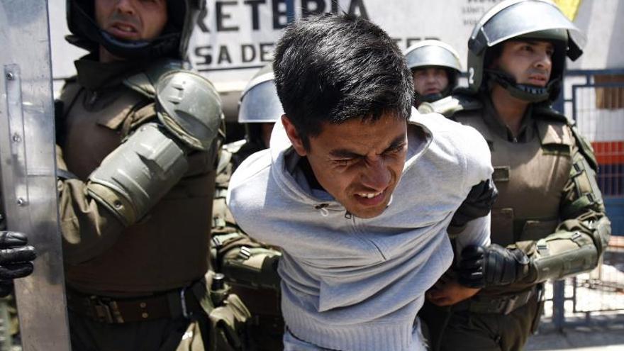 Las huelgas en los puertos chilenos continúan paralizando el país