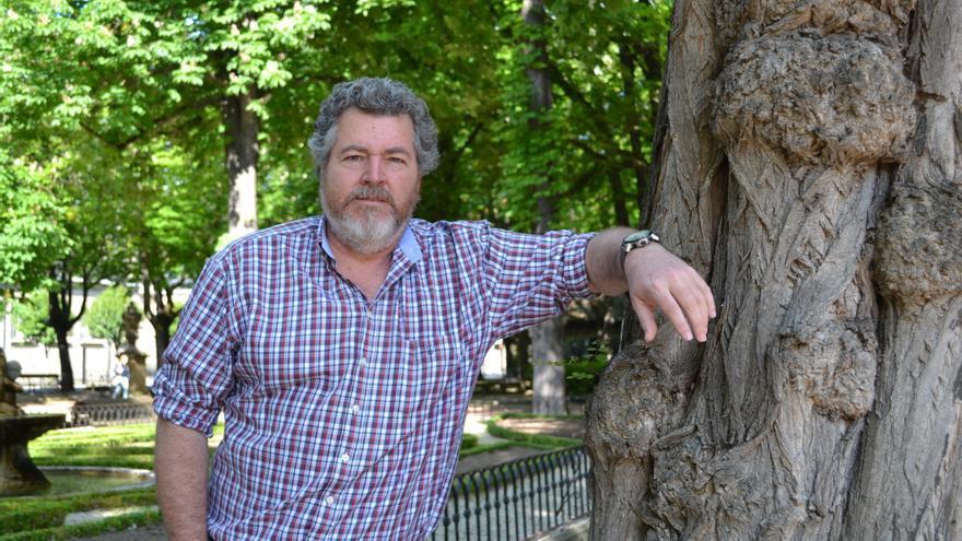 Juantxo López de Uralde, cabeza de lista de Unidos Podemos por Álava.