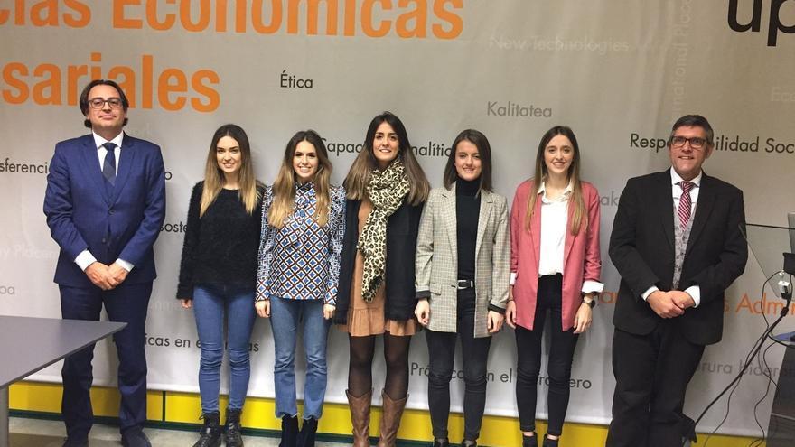 Amaia Zugasti Paternain gana el II Premio del Colegio de Economistas de Navarra al Mejor Trabajo Fin de Grado