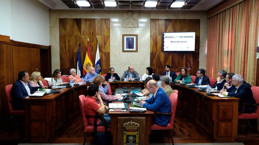 'I Jornada de Trabajo sobre Objetivos de Desarrollo Sostenible (ODS)' celebrada este viernes en el Cabildo de La Palma.