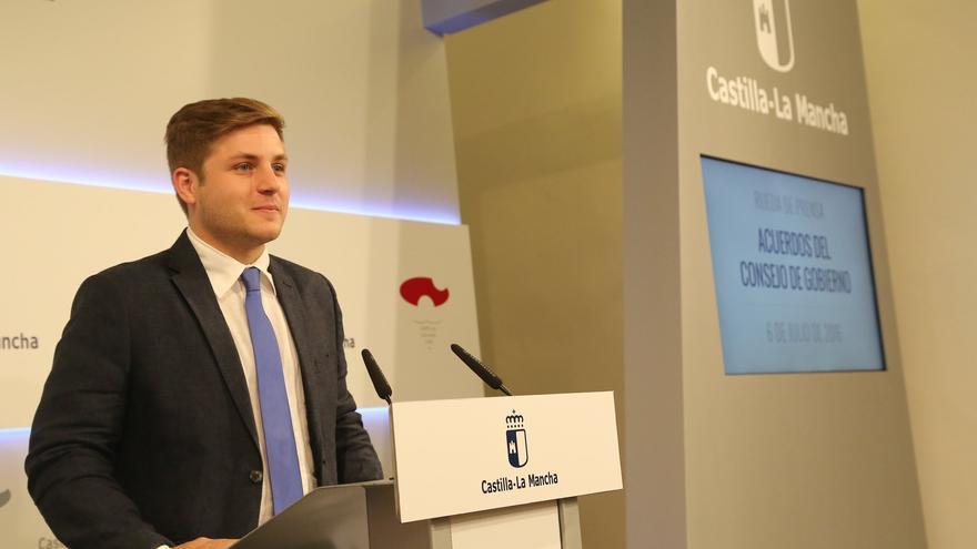 Nacho Hernando en rueda de prensa de Consejo de Gobierno