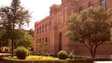 Fachada del Museo de Ciencias Naturales de Madrid .