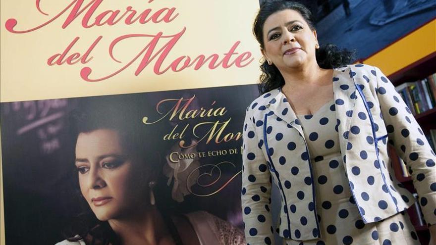 Condenan a pagar 100.000 euros a María del Monte por vulnerar su intimidad