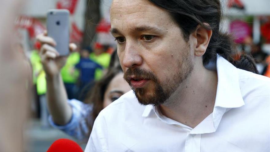 Iglesias dice que nunca marcó el referéndum como línea roja y quiere escuchar
