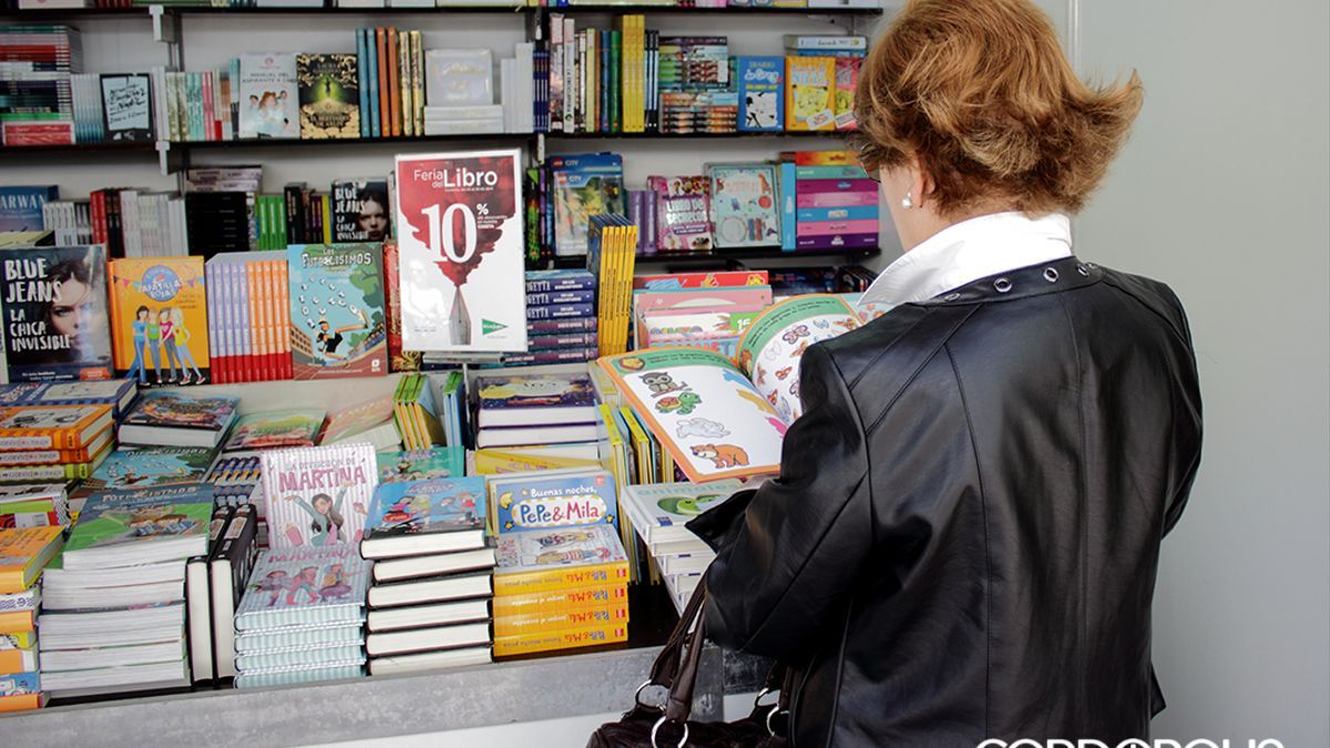Imagen de archivo de la Feria del Libro de Córdoba.