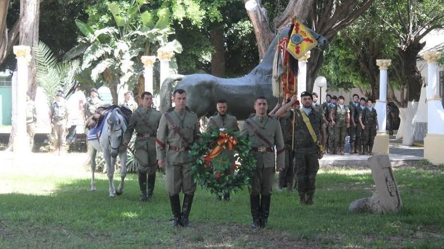 Melilla recuerda la gesta de Caballería para proteger la retirada de la batalla de Annual en 1921