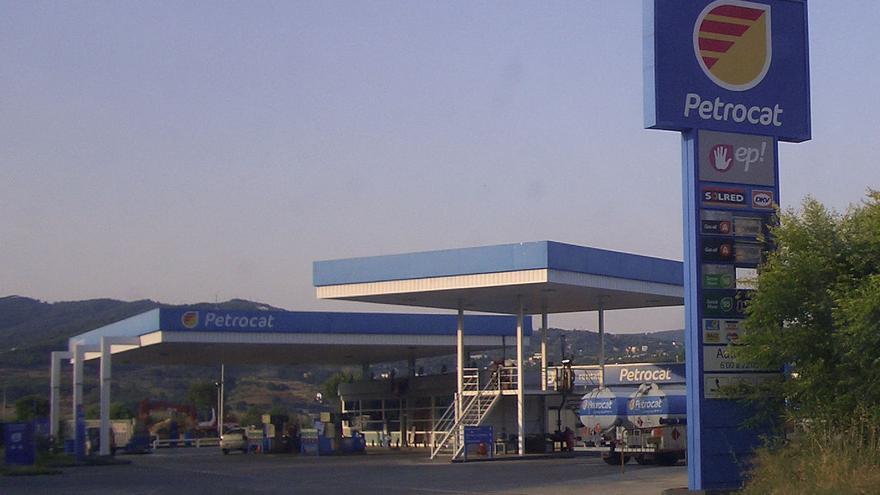 Una gasolinera de Petrocat en Argentona. CC Wikipedia