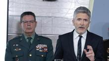 El director operativo de la Guardia Civil dimite por la decisión de Marlaska de cesar al coronel Pérez de los Cobos