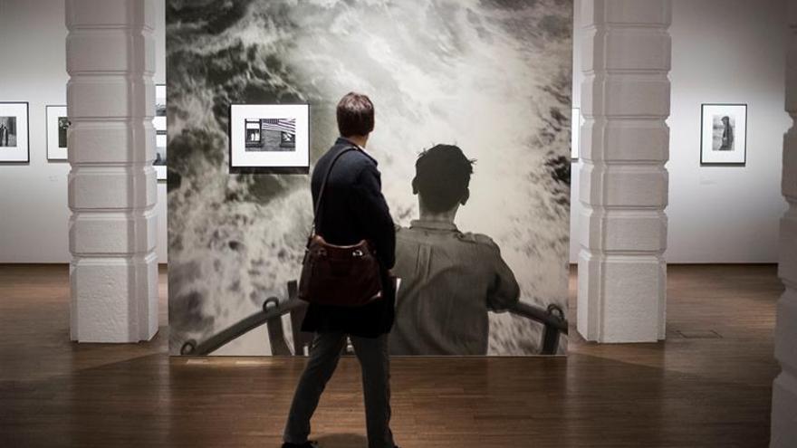 Robert Frank muestra en Viena su viaje visual al reverso del sueño americano