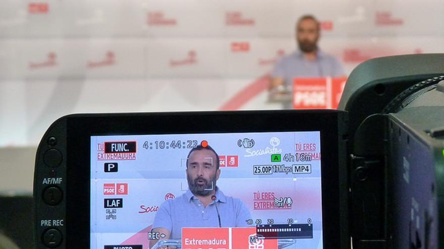 Miguel Morales portavoz PSOE Extremadura