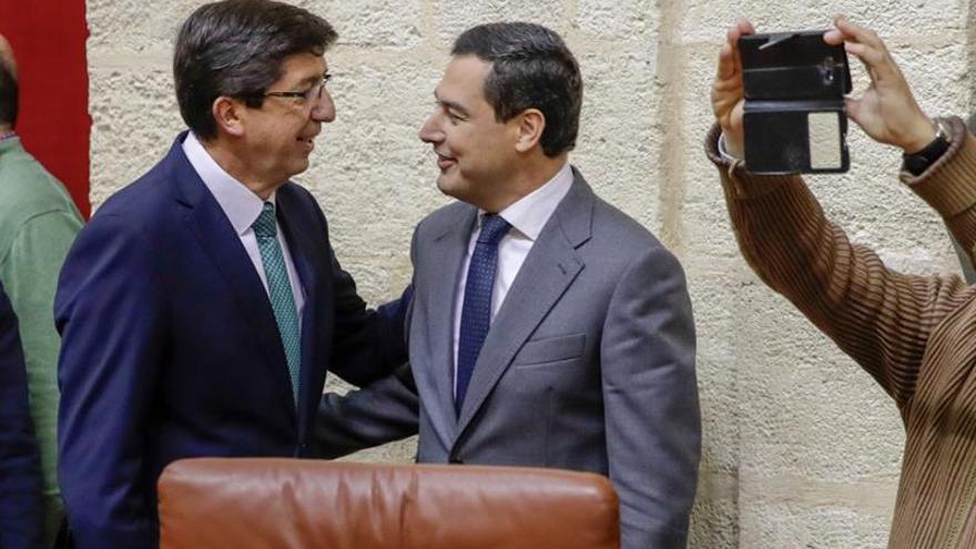 """Marín dice que con el PP sólo han hablado de la """"estructura"""" del gobierno"""