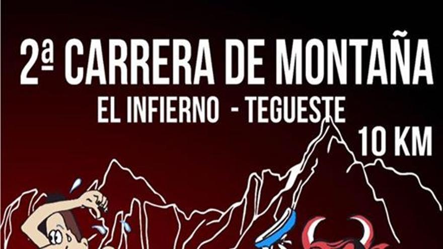 Cartel de la II Carrera de Montaña denominada El Infierno