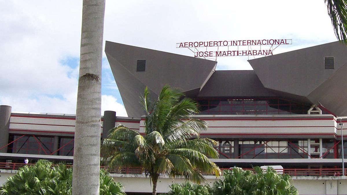 El aeropuerto internacional José Martí de La Habana