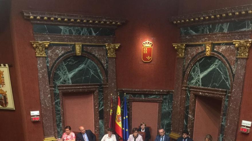 El jefe del Ejecutivo murciano, Pedro Antonio Sánchez