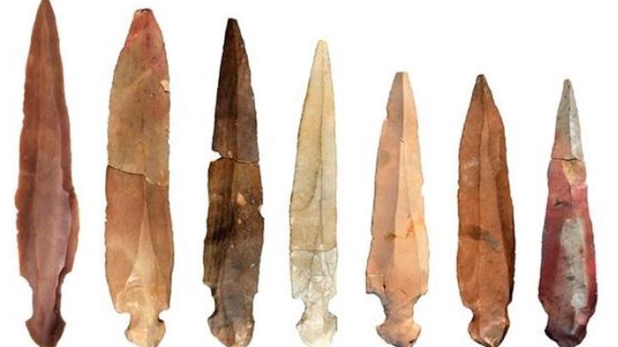 Los cuchillos de la cueva neolítica de Nahal Hemar diseccionaron cadáveres