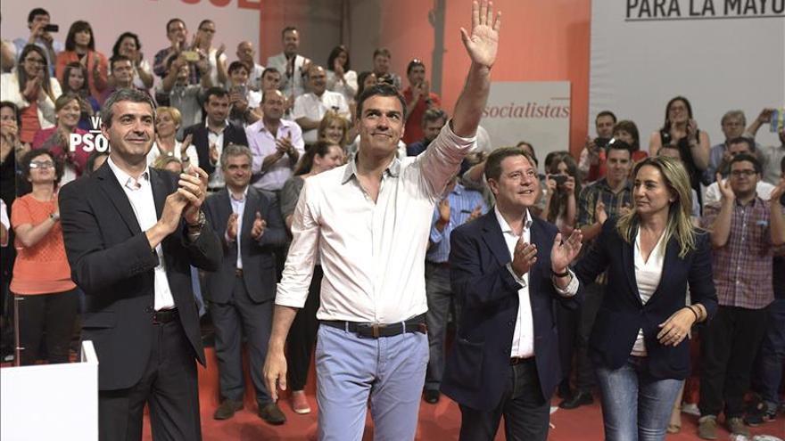 """Sánchez afirma que """"lo útil"""" para poner fin a Cospedal es votar a García-Page"""