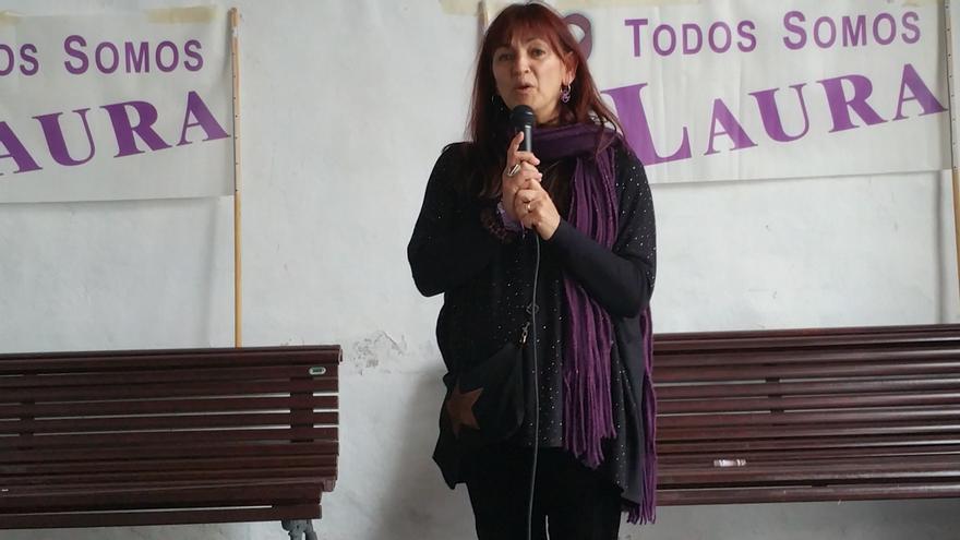 María del Río anunció la creación de un grupo de trabajo. Foto: LUZ RODRÍGUEZ.