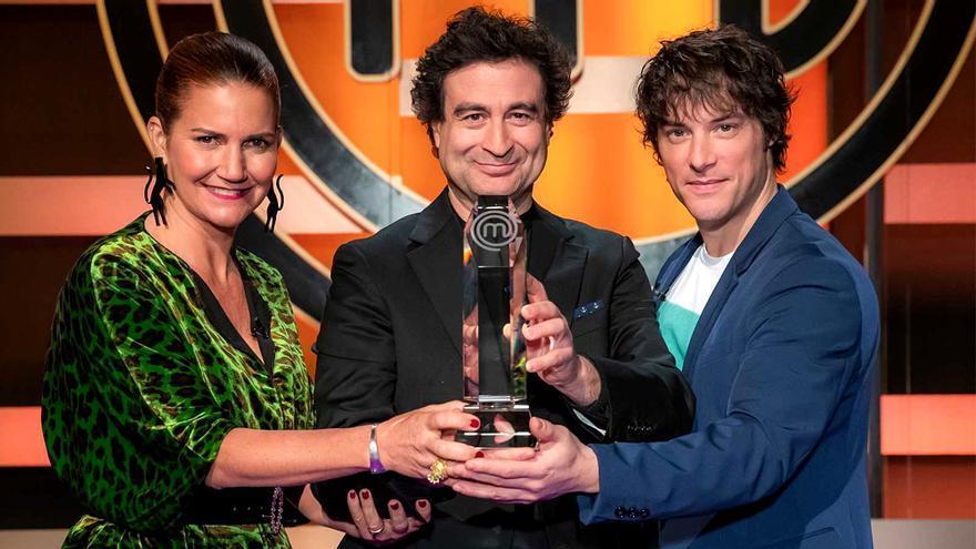 Los tres jueces de 'MasterChef'