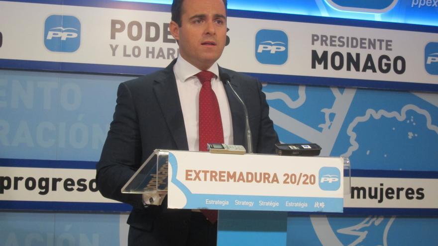 El secretario general del Grupo Parlamentario Popular, Juan Parejo