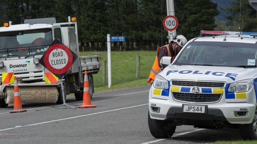 Nueva Zelanda evacúa a personas atrapadas en una zona afectada por el terremoto