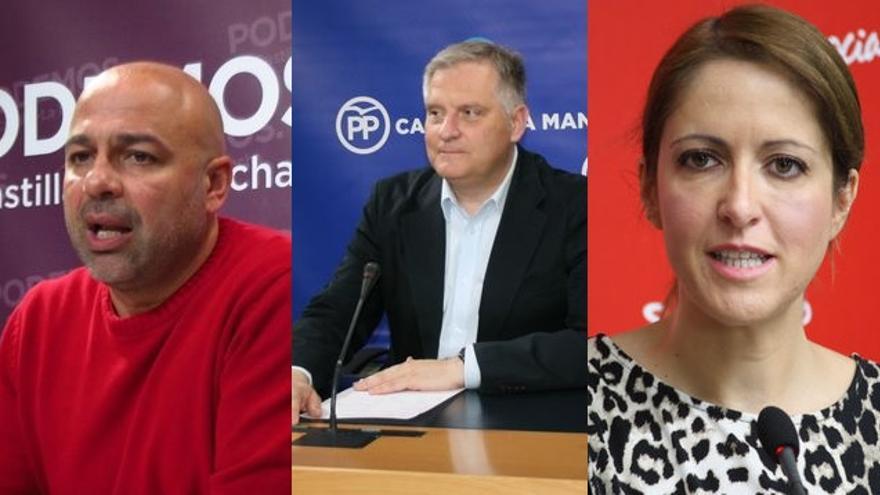 Jose García Molina, Francisco Cañizares, Cristina Maestre