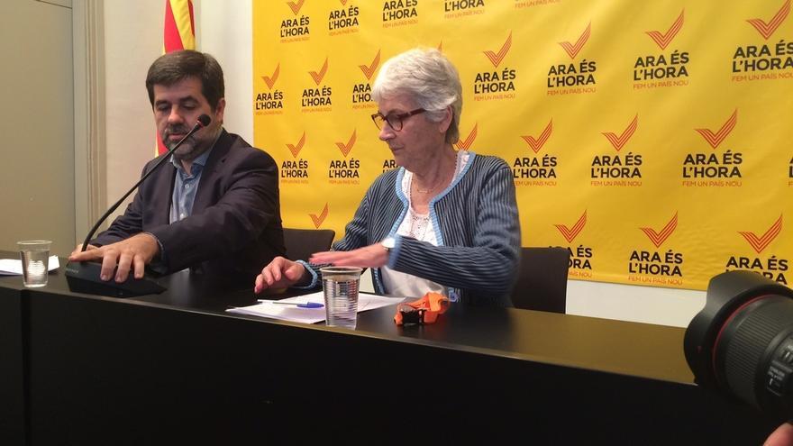 ANC y Òmnium no ven pérdida de mayoría soberanista en la victoria de Colau en Barcelona