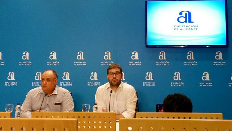 Gerard Fullana en la Diputación de Alicante