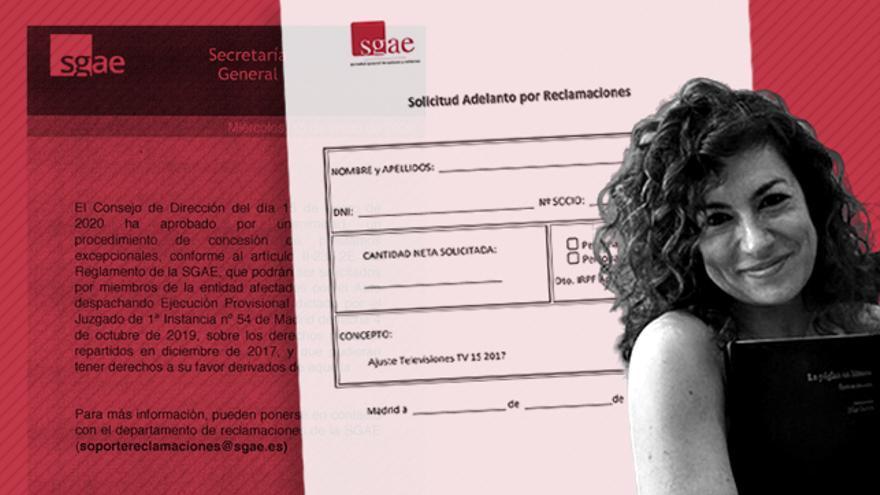Los dos documentos que ofrecen anticipos a socios de la SGAE