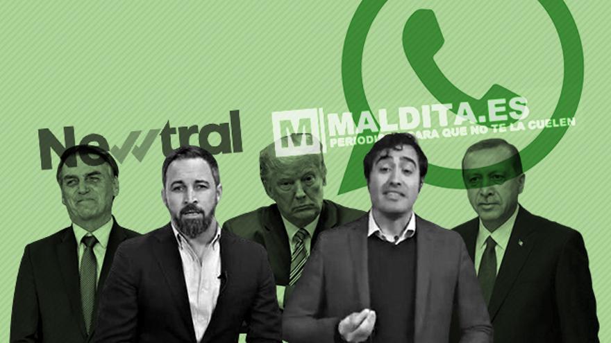 Vox, su comunidad digital de simpatizantes y los 'terraplanistas del coronavirus' han lanzado una nueva teoría de la conspiración contra los medios españoles especializados en verificación, Newtral y Maldita.es.