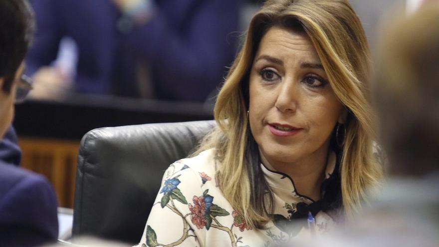Susana Díaz será la presidenta del Grupo Socialista en el Parlamento