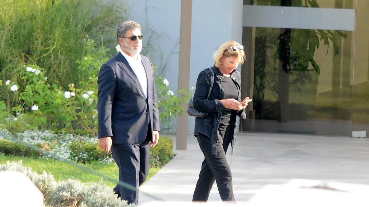Gianfranco Macri, en la despedida a su padre, Franco. El empresario está a cargo de los negocios familiares.
