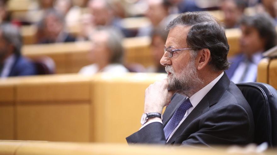 """Rajoy presume de gestión en Madrid y evita entrar en """"más detalles"""" sobre Cifuentes porque """"no conduce a nada"""""""