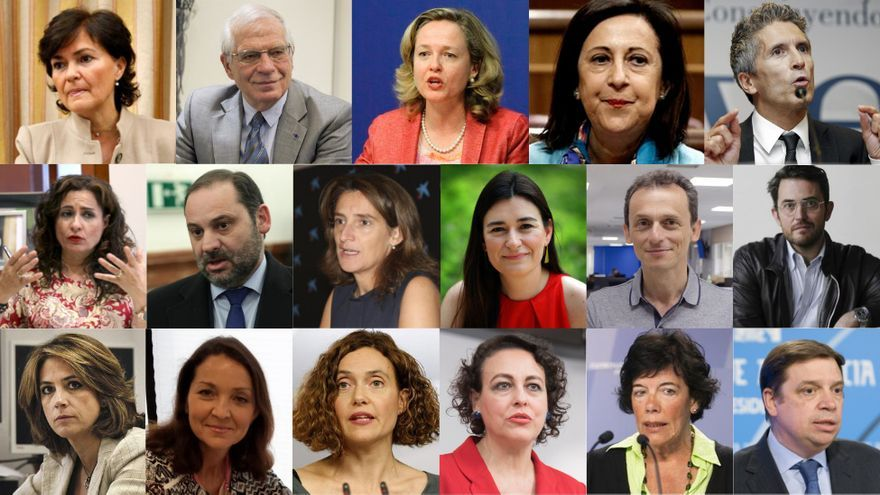 17 ministros