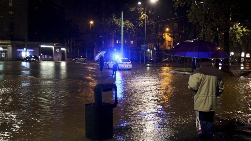 Muere un hombre por las inundaciones en el norte de Italia