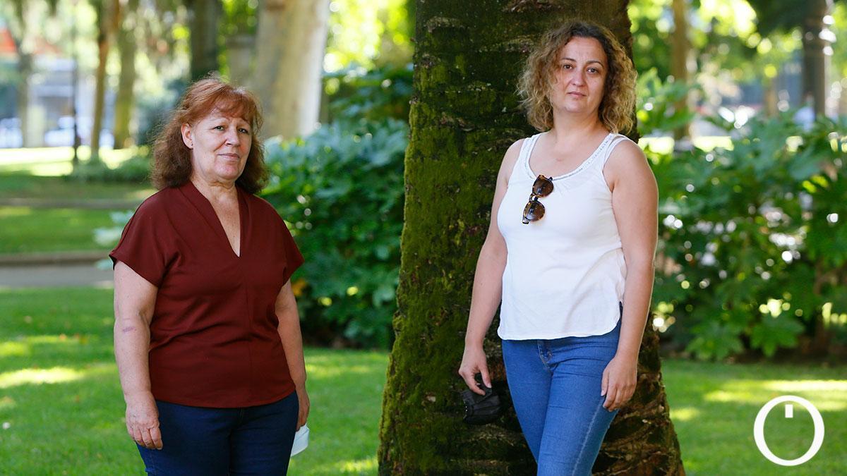 Toñi y Úrsula padecen covid persistente