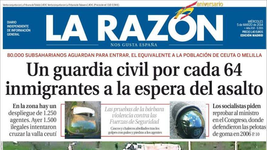 ¿La batalla de las Termópilas? No: Ceuta