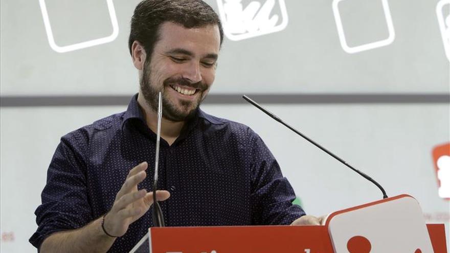 IU apoya con el 78 por ciento que Garzón sea su candidato a las primarias de Ahora en Común