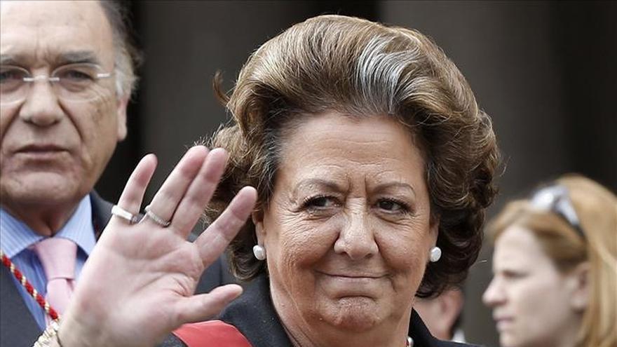 La junta sanciona a Barberá por visitar un jardín en período electoral