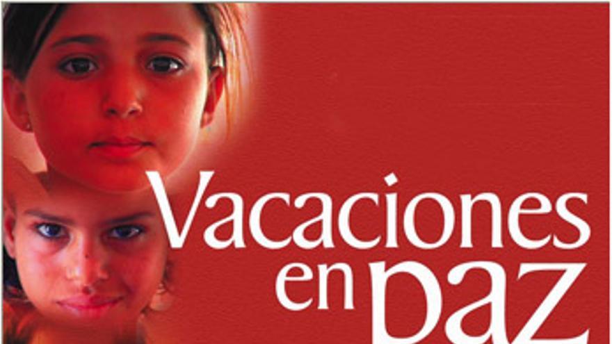 Vacaciones en paz cartel saharauis