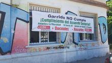 Encierro indefinido de CCOO hasta que el Gobierno de Garrido aumente como firmó el cupo de profesores