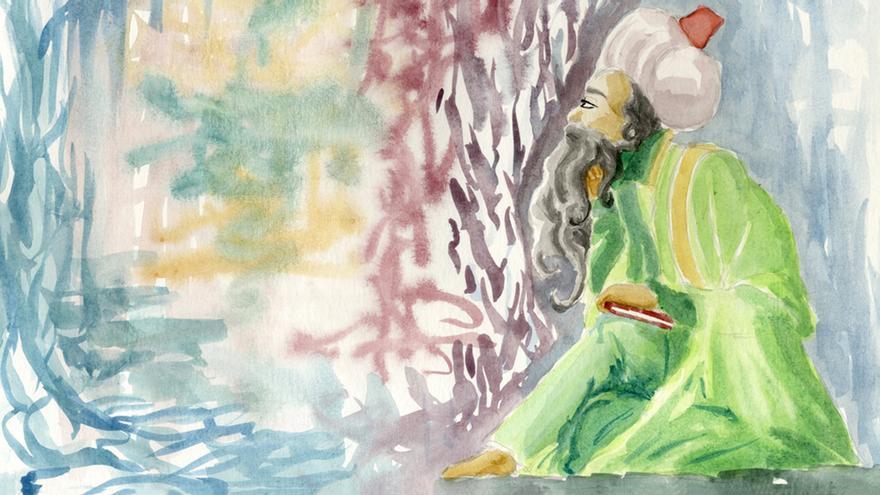 Ilustración Ibn Arabi