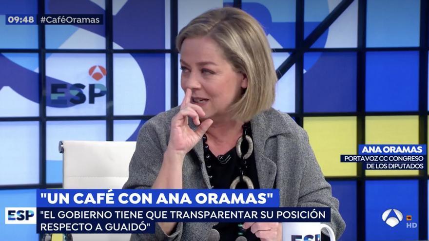 Ana Oramas en 'Espejo Público'