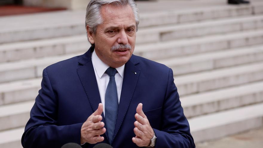 Alberto Fernández se reúne con la directora gerente del FMI en Roma