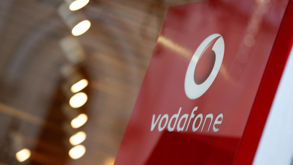 Logotipo de Vodafone España.
