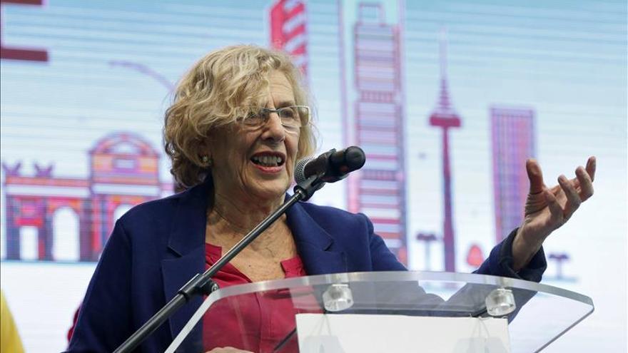 La alcaldesa de Madrid, Manuela Carmena / EFE