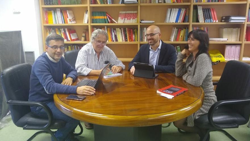 Reunión Nacho Álvarez Jorge Uxó en Ciudad Real