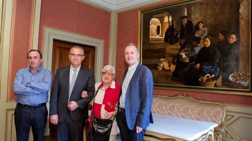 Condestable acogerá la colección permanente del pintor pamplonés Javier Ciga