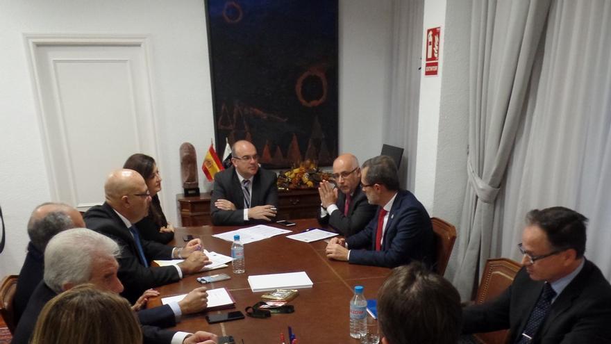 Reunión de la Fecai en Madrid este miércoles.