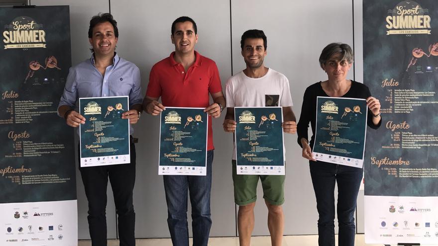 Presentación de las actividades de verano programadas por el Ayuntamiento de Breña Baja.