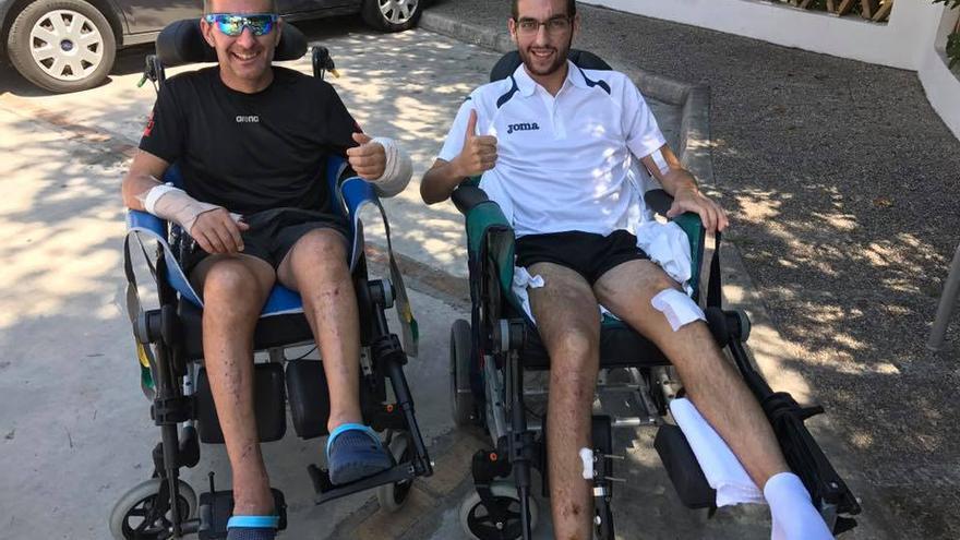 Andrés Contreras y Scott Gordon, juntos